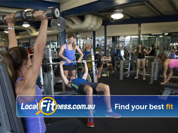 Richmond Recreation Centre - Yarra Leisure Gym Hawthorn East  | Our Richmond gym is well equipped for strength