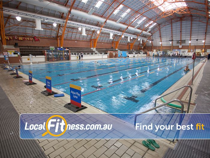 Richmond Recreation Centre - Yarra Leisure Gym Hawthorn East  | The 50m indoor Richmond swimming pool.