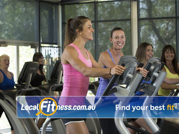 Richmond Recreation Centre - Yarra Leisure Toorak Gym Fitness Rows of state of the art