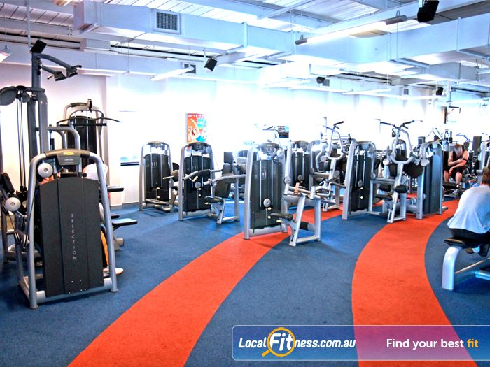 Goodlife Health Clubs Gym Cottesloe    State of the art equipment from Technogym in