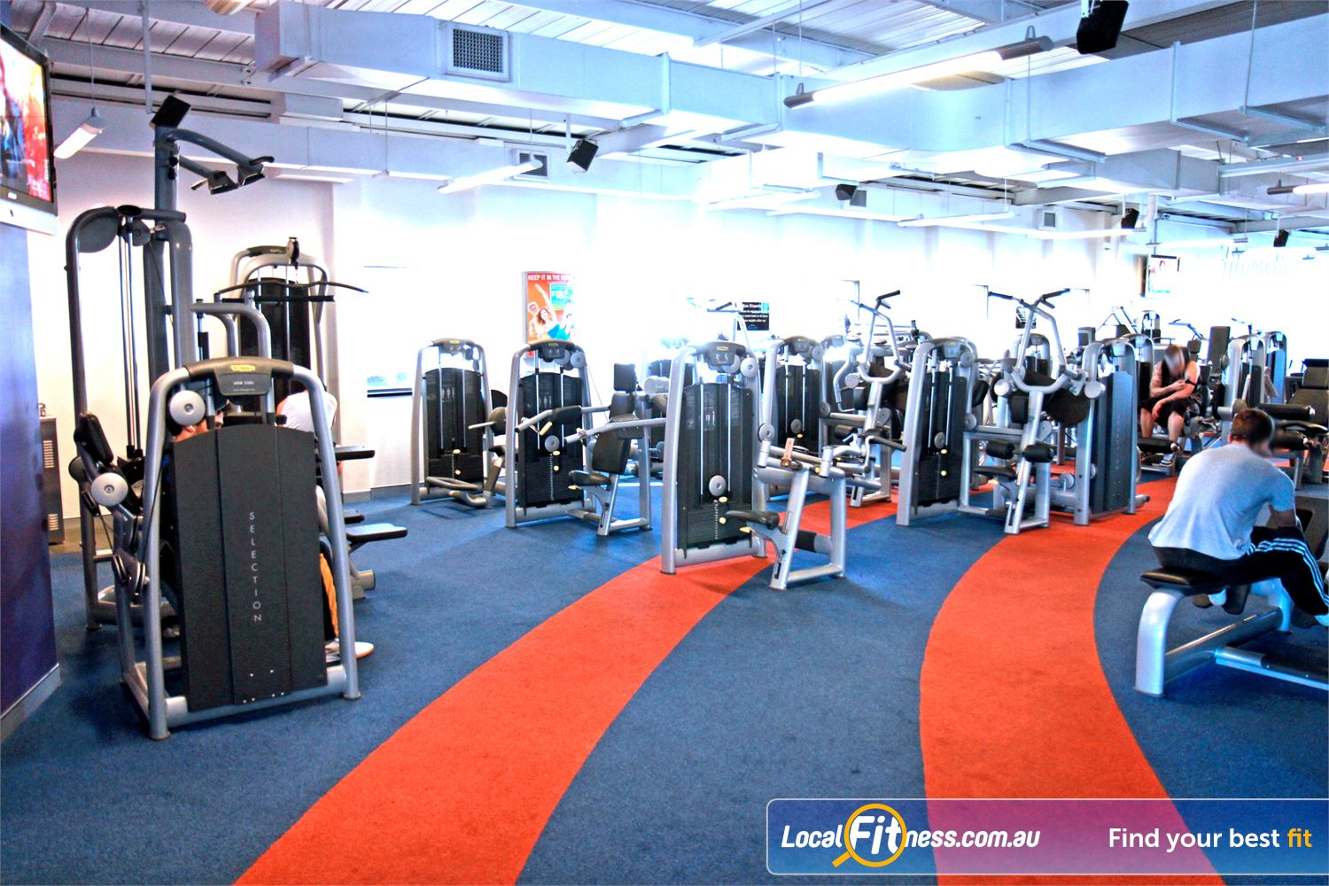 Goodlife Health Clubs Innaloo State of the art equipment from Technogym in our Innaloo gym.