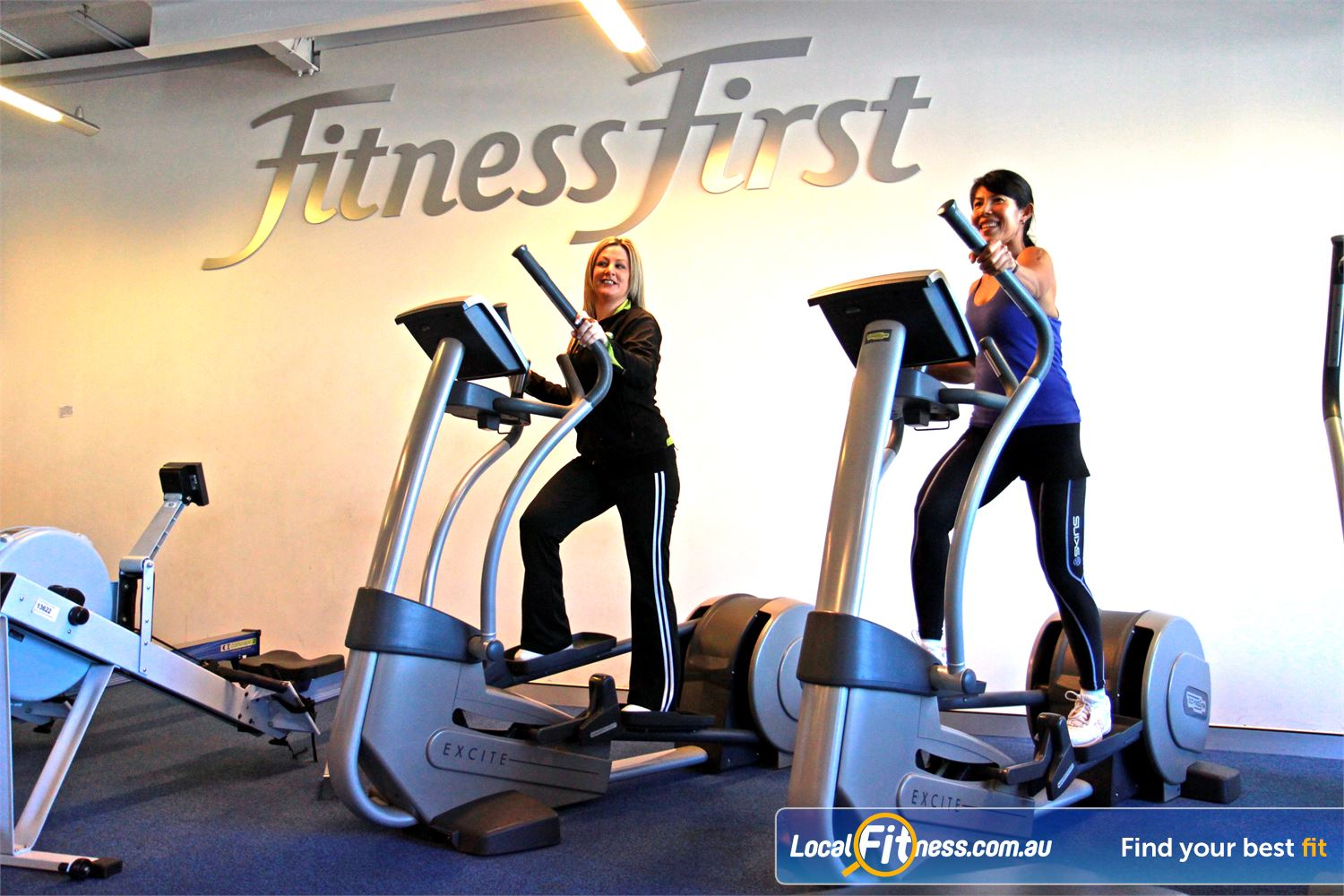 Goodlife Health Clubs Innaloo We provide a cardio theatre down stairs, and cardio setup upstairs so you wait less and train more.