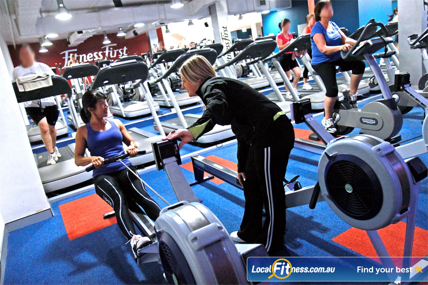 Goodlife Health Clubs Innaloo Choose your Goodlife cardio weapon including indoor rowing.