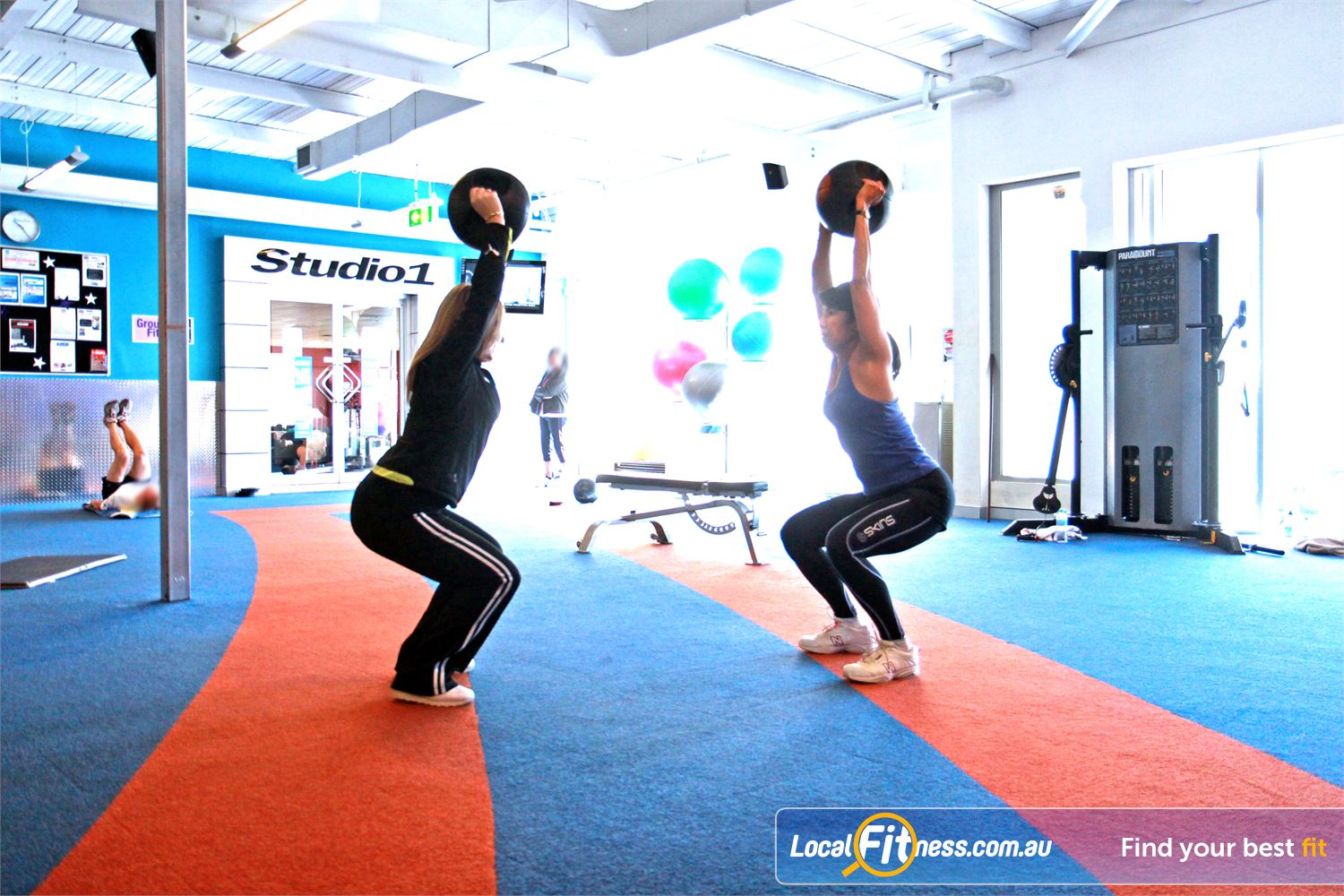 Goodlife Health Clubs Near Osborne Park A dedicated area for Innaloo personal training clients.