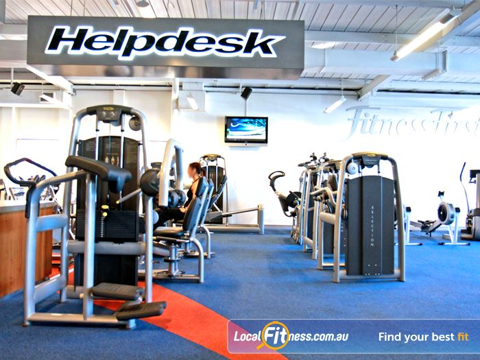 Fitness First Innaloo Gym Fitness At the Fitness First Help desk,