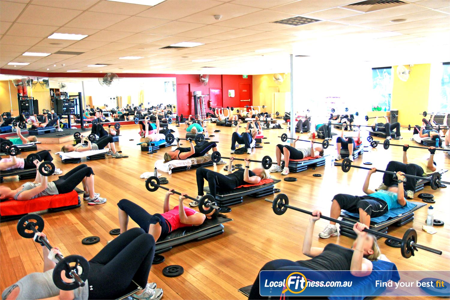 Goodlife Health Clubs Near Osborne Park The exclusive aerobics studio houses popular Innaloo group fitness classes.