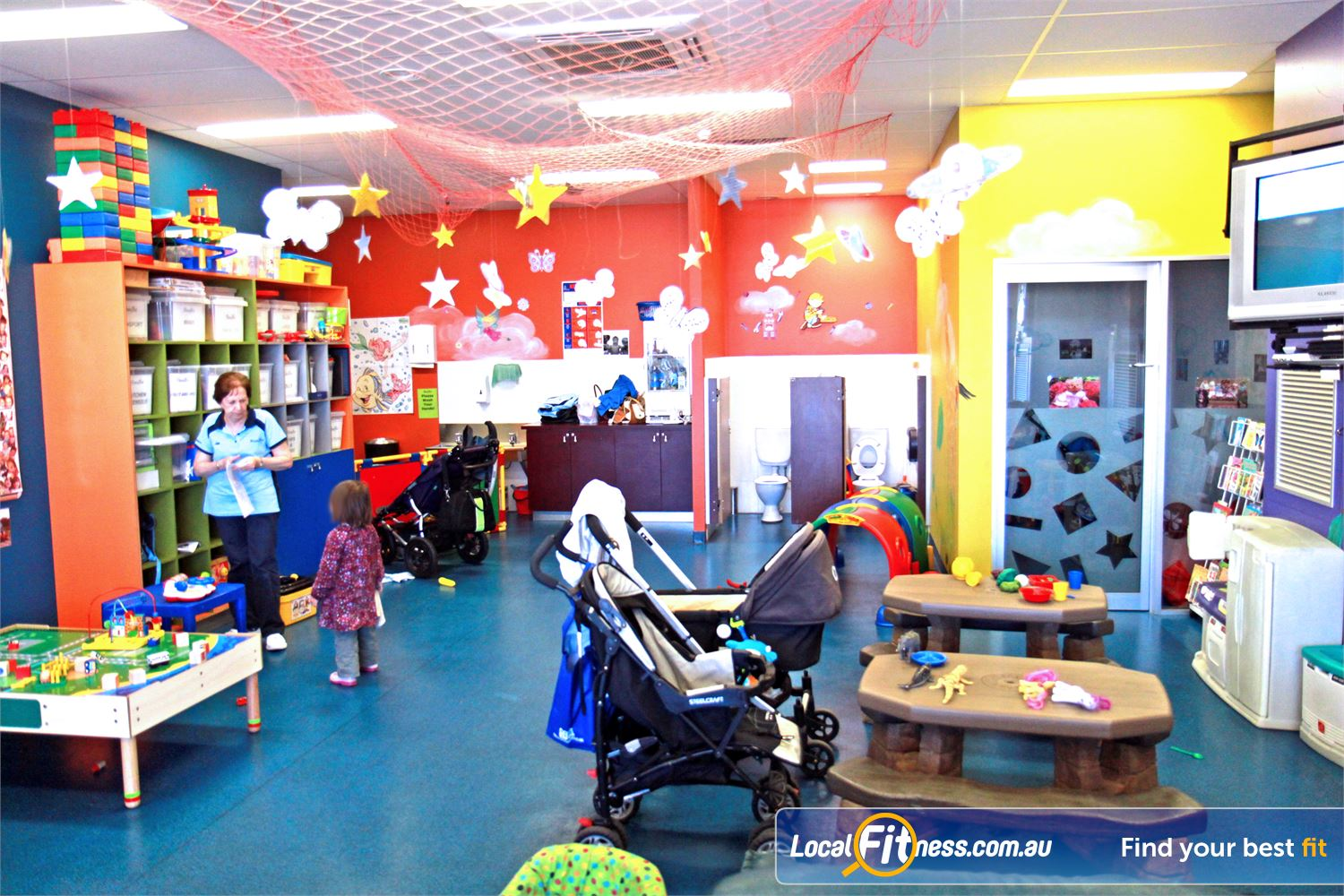 Goodlife Health Clubs Innaloo Convenient Playzone Child Minding at Goodlife Innaloo.