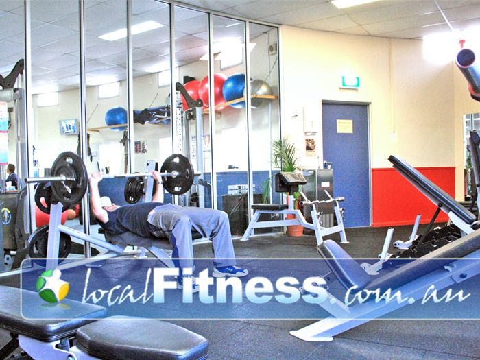Fitzroy swimming pool yarra leisure free weights area Fitzroy swimming pool group fitness