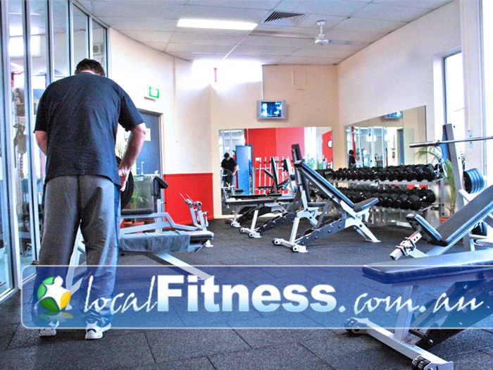 Fitzroy Swimming Pool Yarra Leisure Free Weights Area Near Abbotsford Our Spacious Free