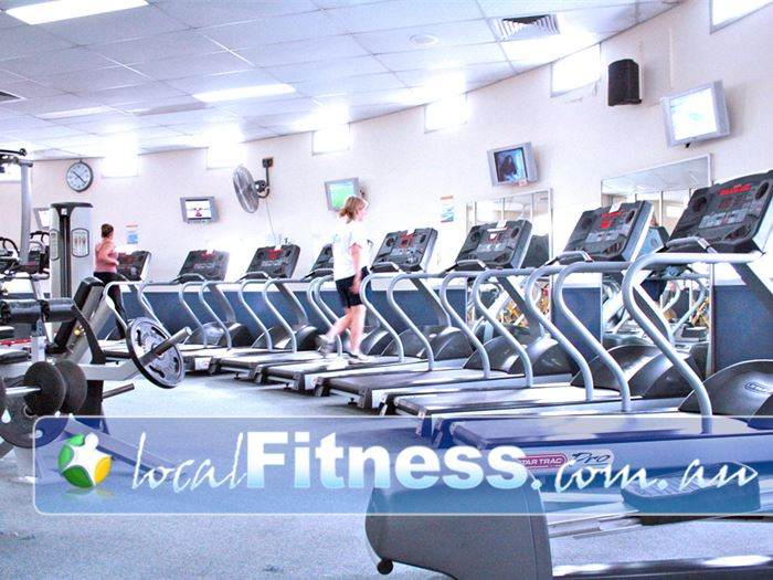 Fitzroy Swimming Pool - Yarra Leisure Gym Kensington  | Our Fitzroy gym provides a comprehensive cardio area.