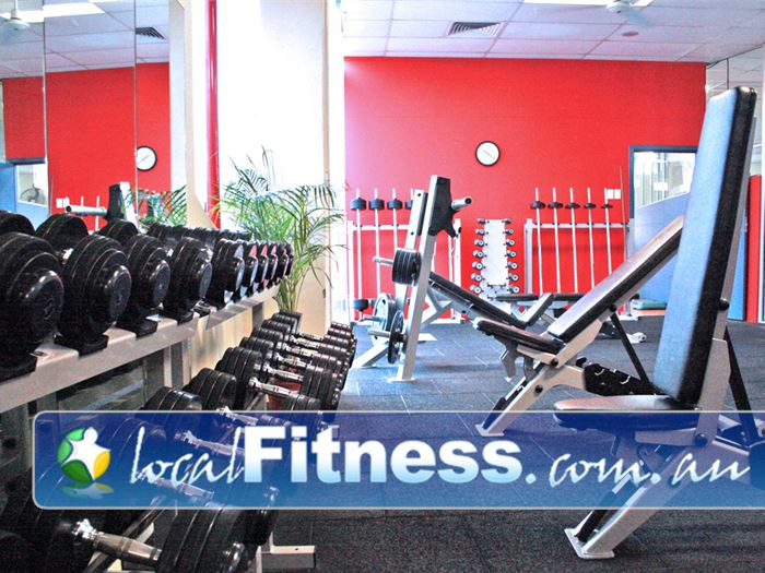 Fitzroy Swimming Pool - Yarra Leisure Fitzroy Gym Fitness The free-weights area at our