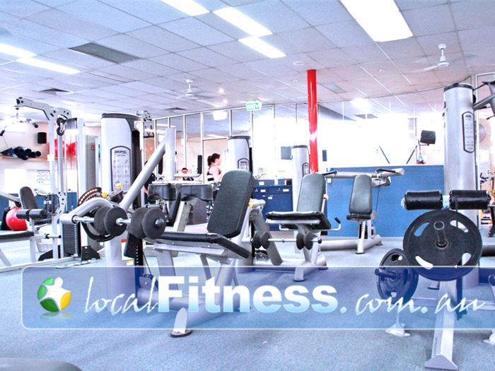 Fitzroy Swimming Pool - Yarra Leisure Collingwood Gym Fitness The spacious Fitzroy gym area.
