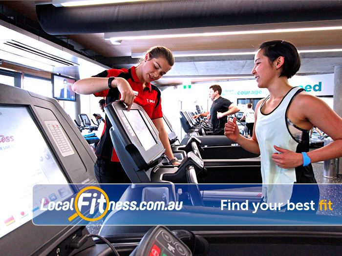 Carlton Baths Gym Melbourne  | Our friendly Carlton gym team can help you