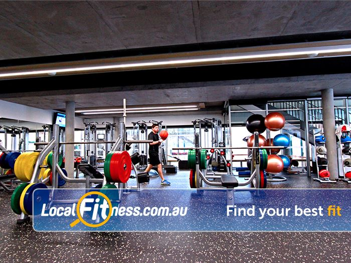 Carlton Baths Gym South Melbourne  | Our Carlton gym includes a fully equipped free-weights
