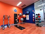 The dedicated abs and stretching corner at Plus