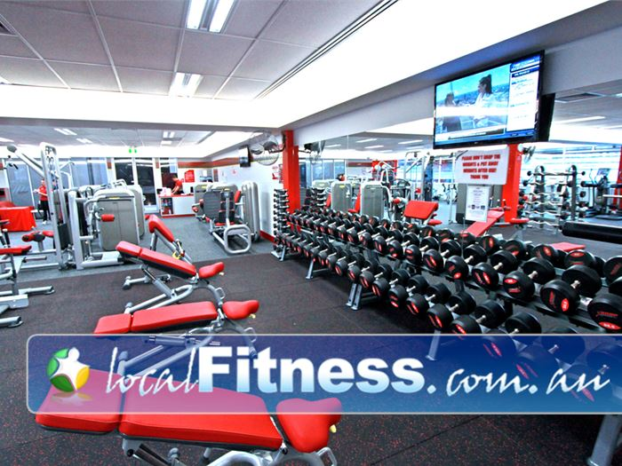 Snap Fitness 24 Hour Gym Newstead  | Our 24 hour Chermside gym is fully equipped