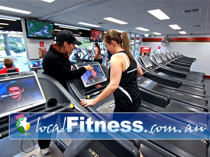 Snap Fitness Zillmere Gym Fitness Cardio training with a fully
