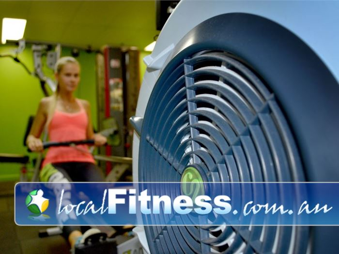 Real Fitness OConnor Spice up your cardio routine with indoor rowing.