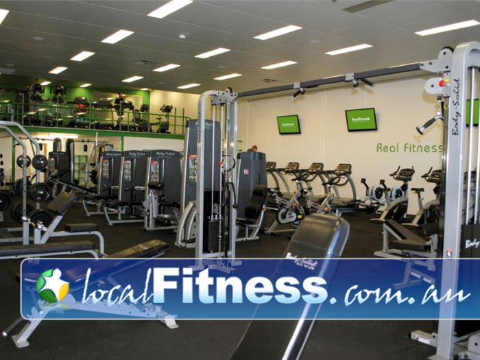 Real Fitness OConnor Our O'Connor gym features 2 levels of fitness under one roof.