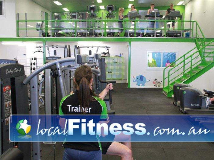 Real Fitness OConnor O'Connor personal trainers can help you with your weight training.