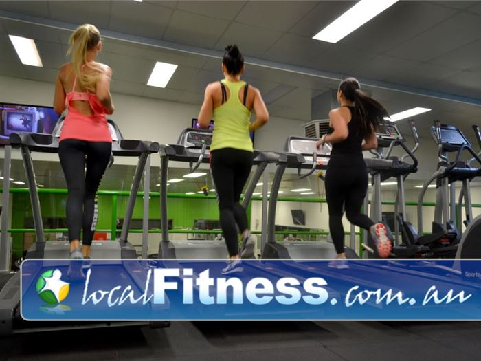 Real Fitness Near Palmyra Our private women's only gym area is located on level 2.