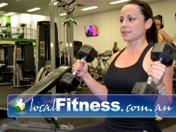 Real Fitness Near Samson Free-weight training for men and women.