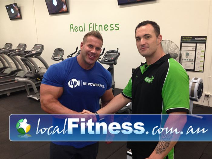 Real Fitness Near Palmyra Our 24 O'Connor gym attracts the best talents from around the world inc. Jay Cutler.