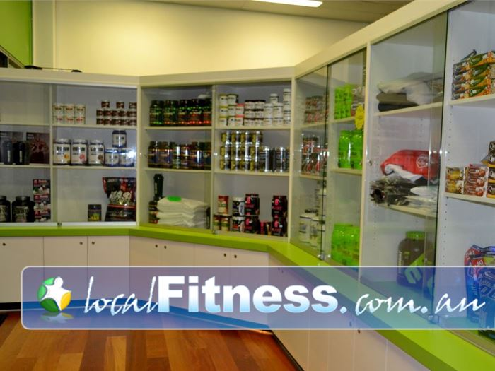 Real Fitness OConnor On-site O'Connor supplement shop.