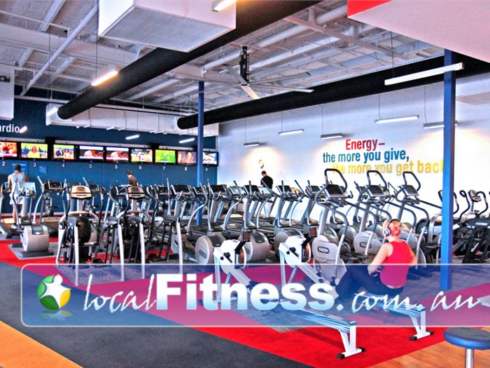 Fitness First Highpoint Essendon Gym Fitness The signature cardio theatre