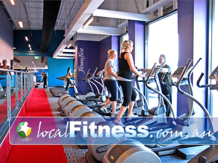 Fitness First Highpoint Maribyrnong Gym Fitness Choose your cardio weapon: