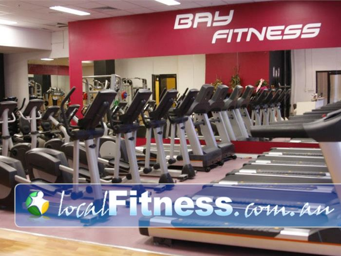 Bay Fitness Gym North Strathfield  | The latest state of the art cardio equipment.