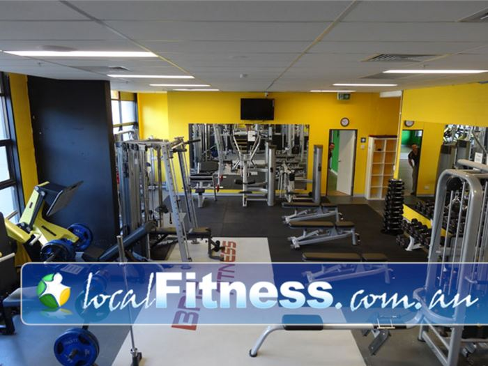 Bay Fitness Ermington Gym Fitness Comprehensive free-weights area
