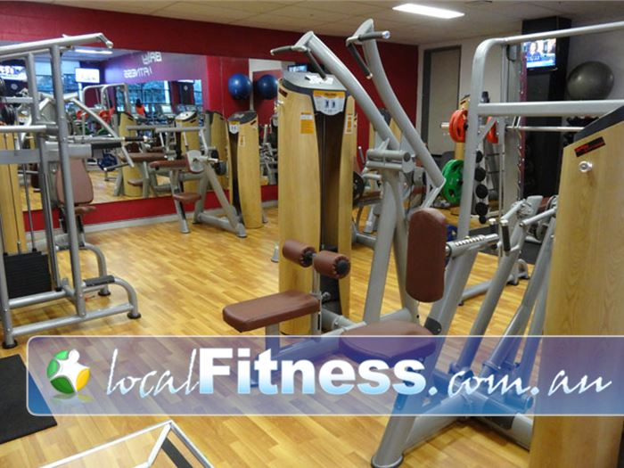 Bay Fitness Meadowbank Gym Fitness Mezzanine level with the latest