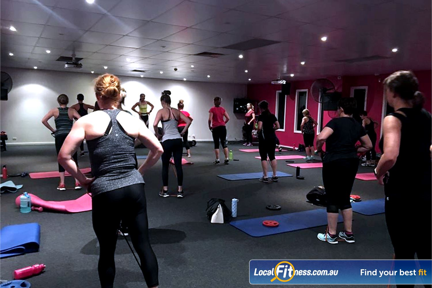 Fernwood Fitness Near Wynn Vale Over 50 classes inc. St Agnes Yoga, Zumba, Les Mills and more.