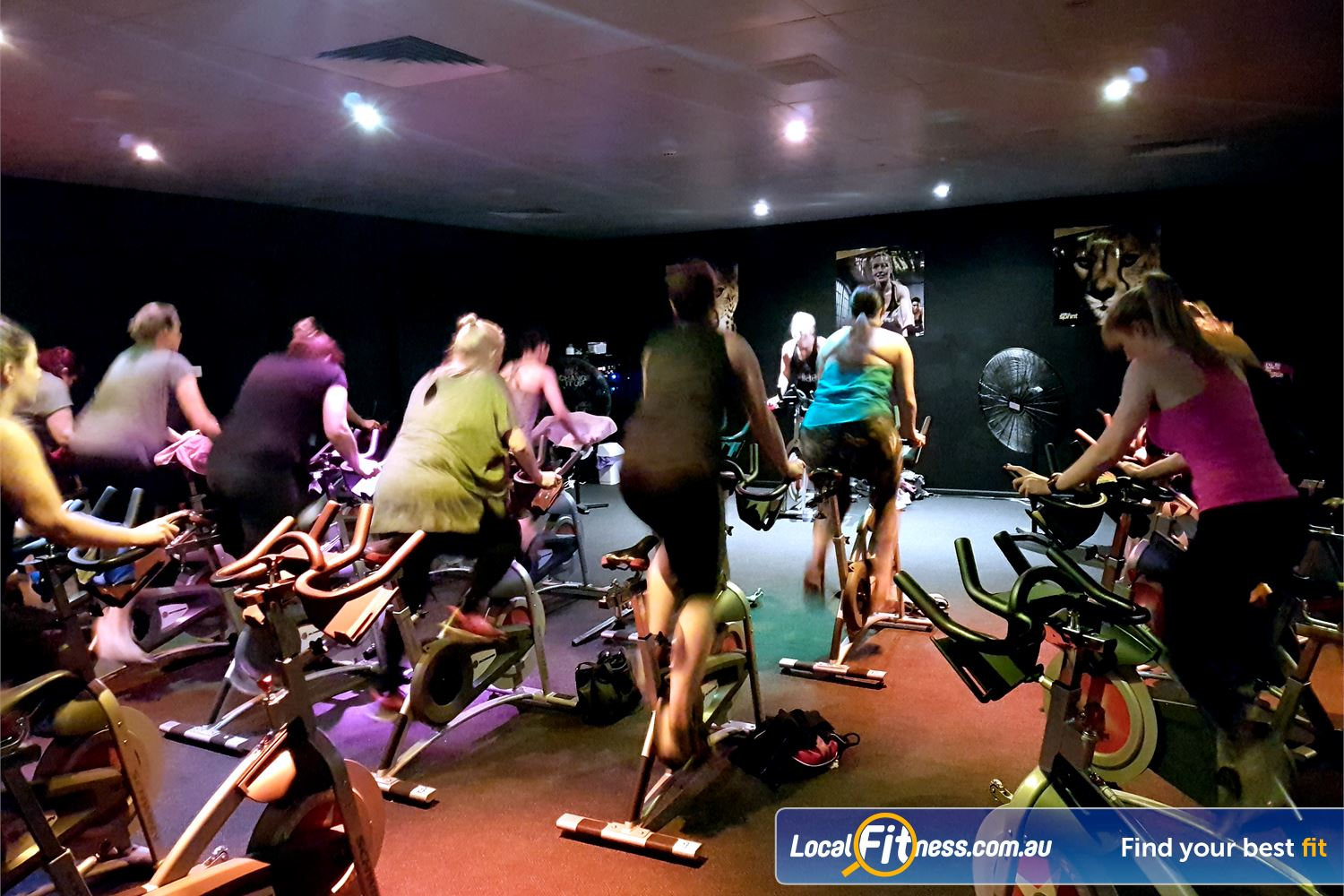 Fernwood Fitness Near Fairview Park Burn calories fast with St Agnes cycle classes.