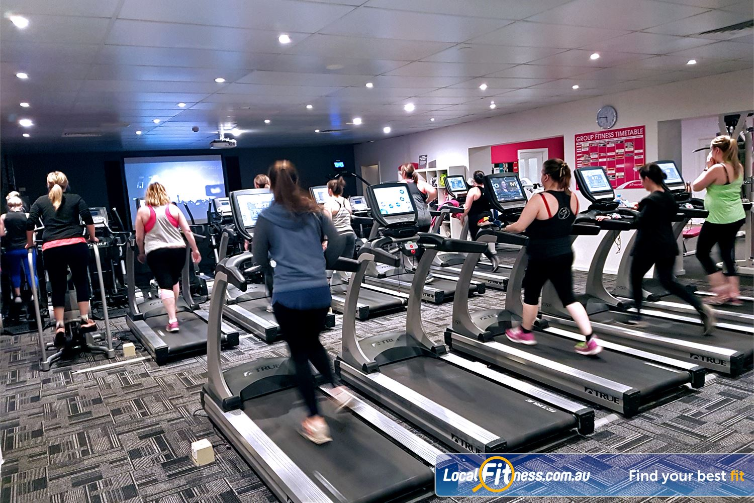 Fernwood Fitness St Agnes Our St Anges gym includes state of the art cardio.