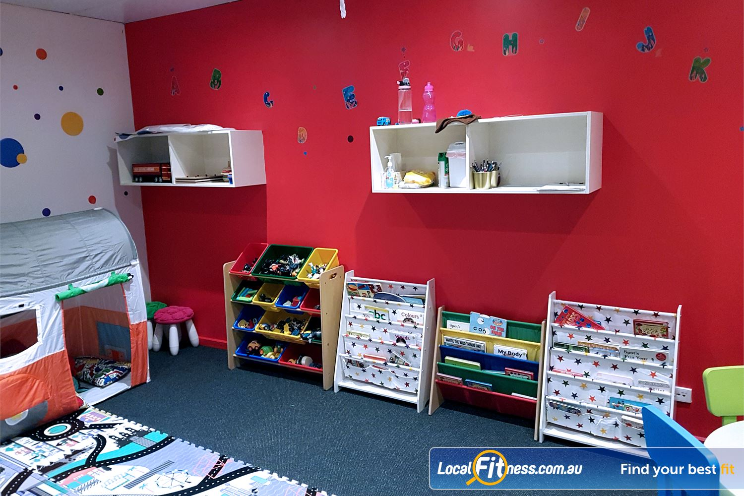 Fernwood Fitness Near Wynn Vale Plenty of activities for your kids to enjoy.