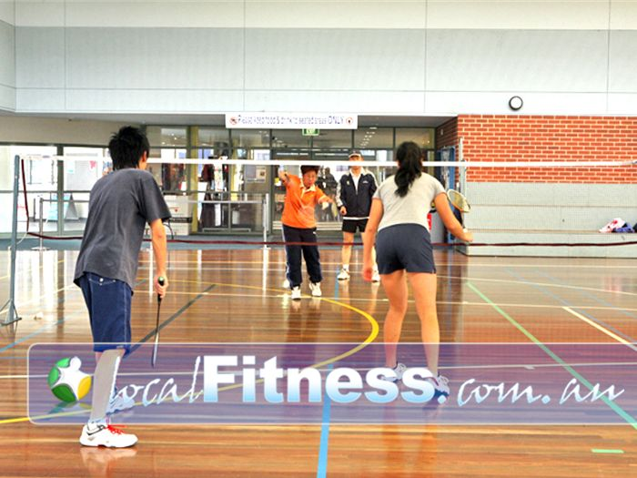 Aqualink Leisure Centre Near Mont Albert North Double or singles badminton.