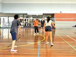 Aqualink Leisure Centre Mont Albert North Gym Fitness Double or singles badminton.