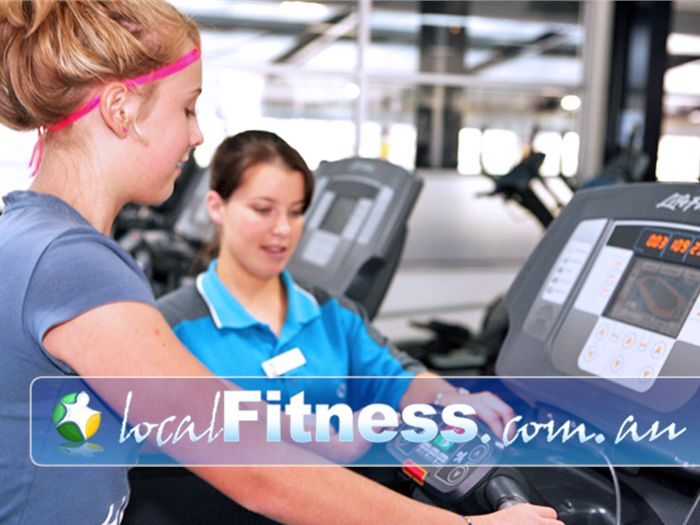 Aqualink Leisure Centre Gym Blackburn South  | Our staff can give you personalised instruction.