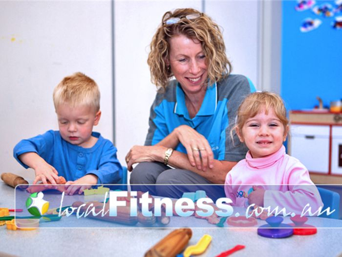 Aqualink Leisure Centre Near Vermont Qualified staff and joyful activities in our creche.