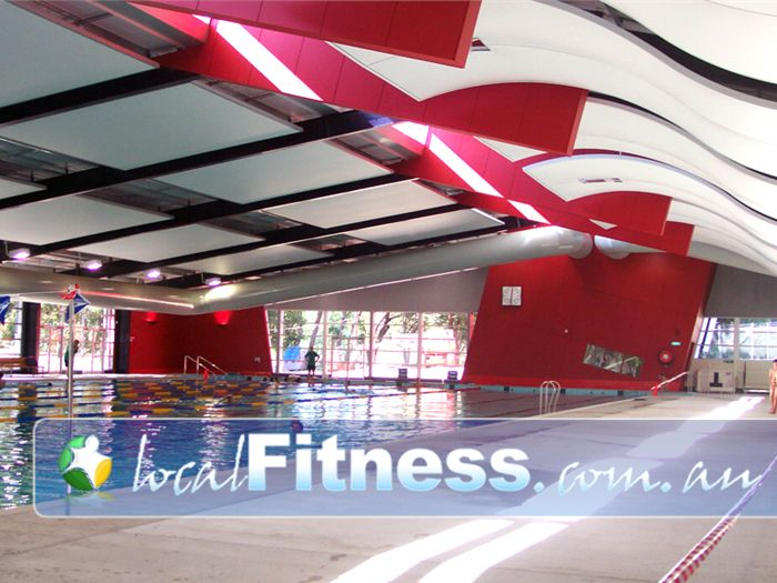 Aqualink Leisure Centre Near Vermont South 50 metre indoor 8 lane competition pool