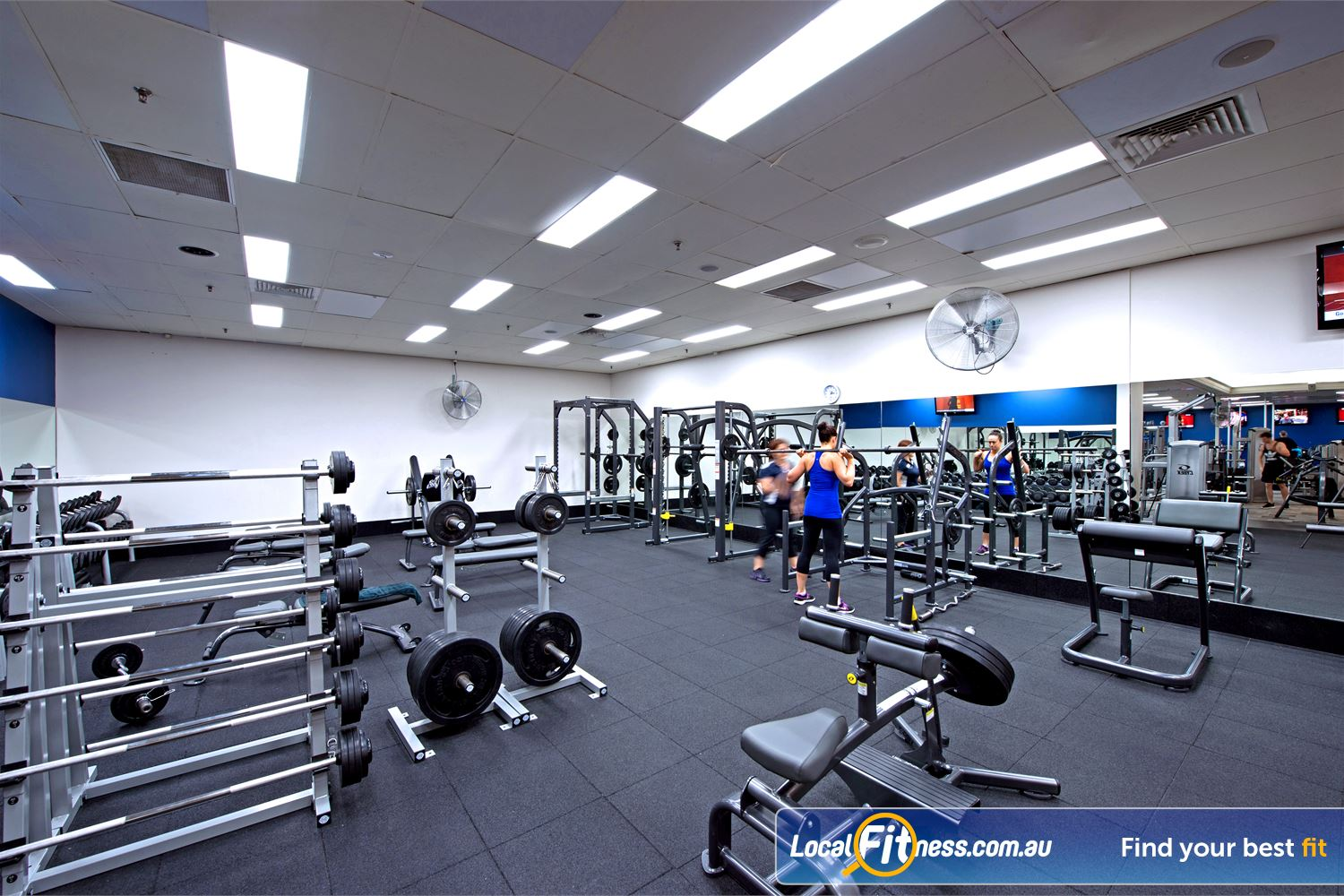 Goodlife Health Clubs Cottesloe The newly renovated Goodlife Cottesloe gym.