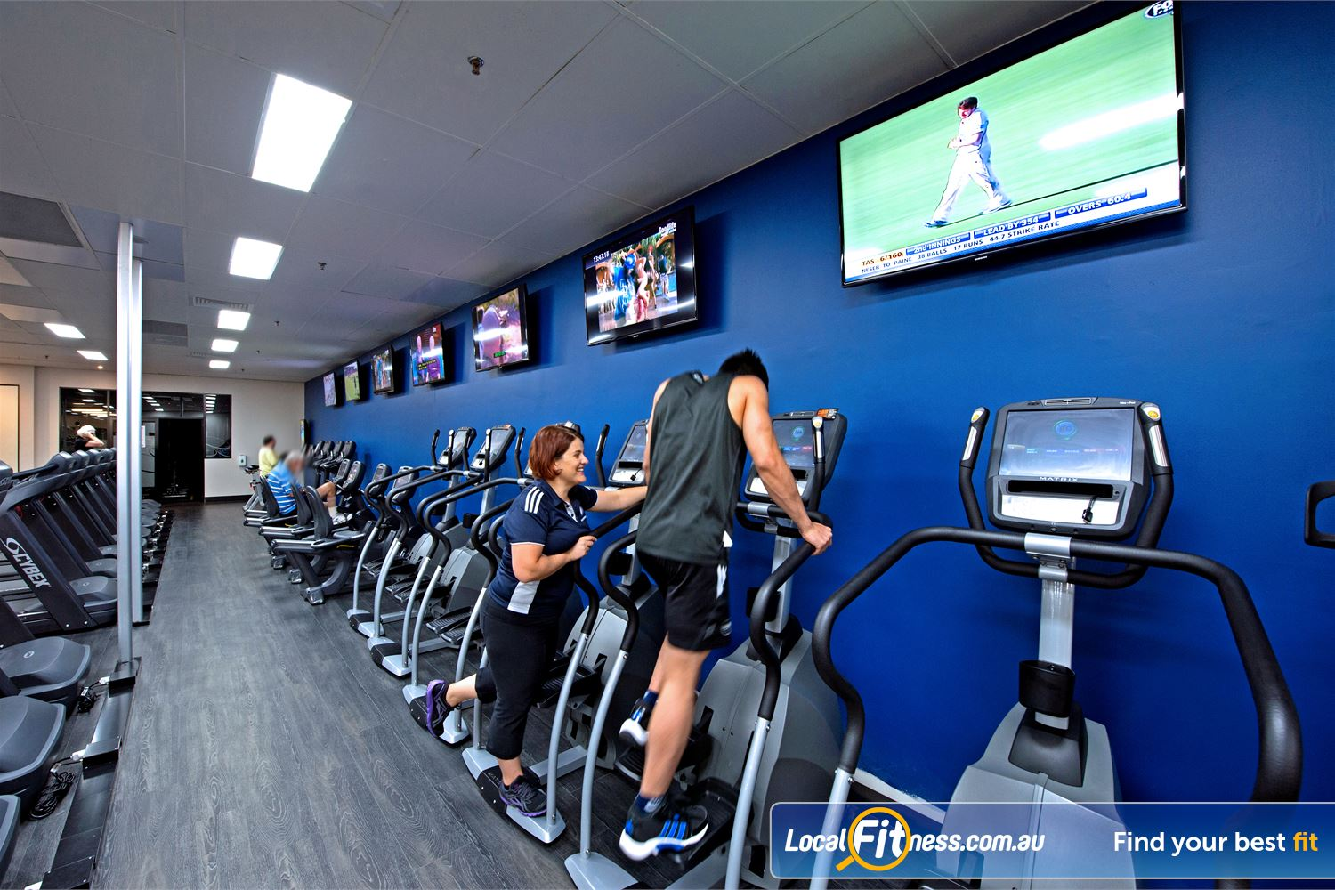 Goodlife Health Clubs Cottesloe Tune into your favourite shows on your personalised LCD screen or cardio theatre.