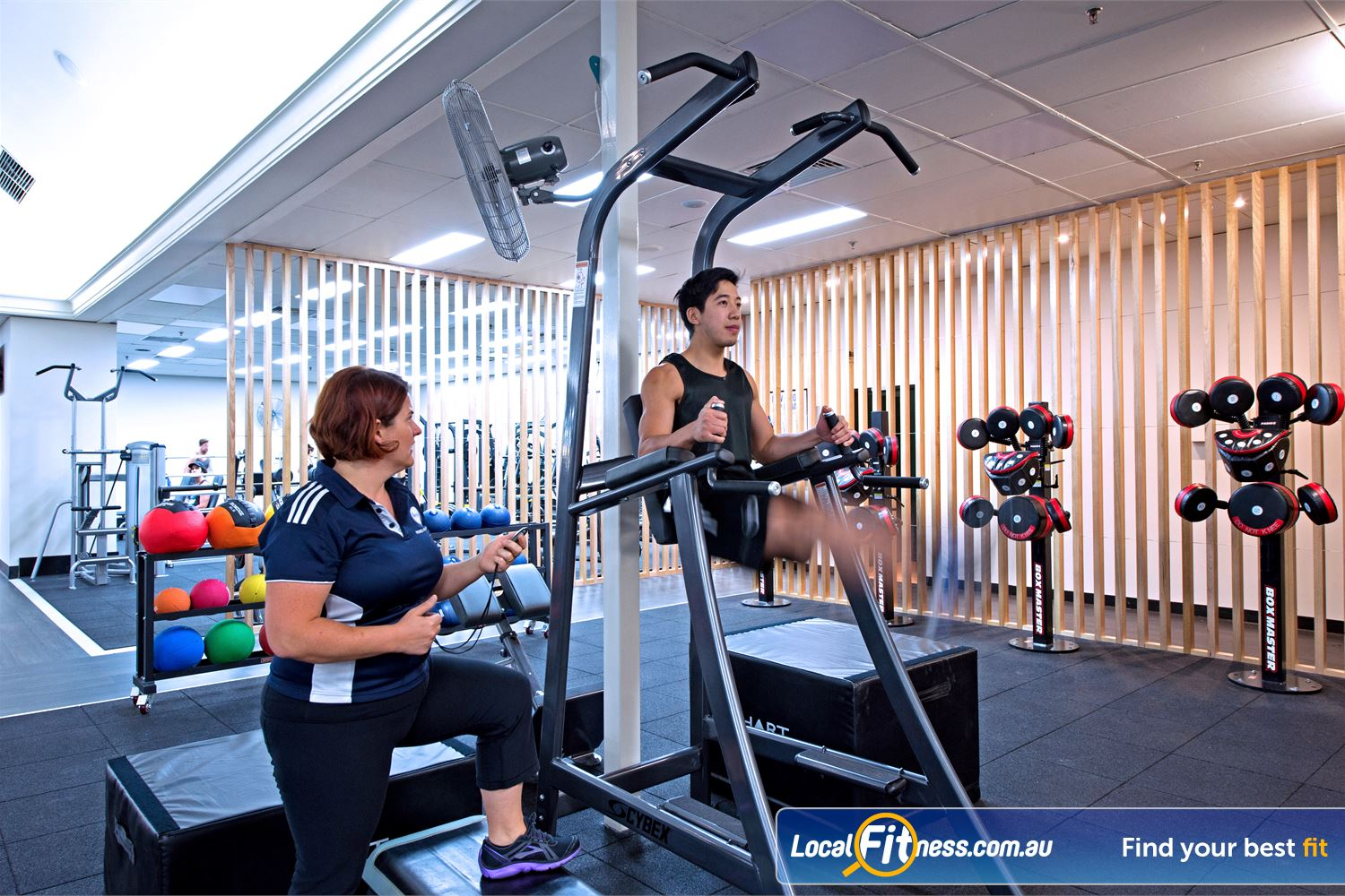 Goodlife Health Clubs Near Mosman Park Get functional with Cottesloe personal training.