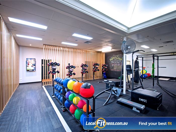 Goodlife Health Clubs HIIT Perth  | The fully equipped Goodlife Cottesloe functional training area.
