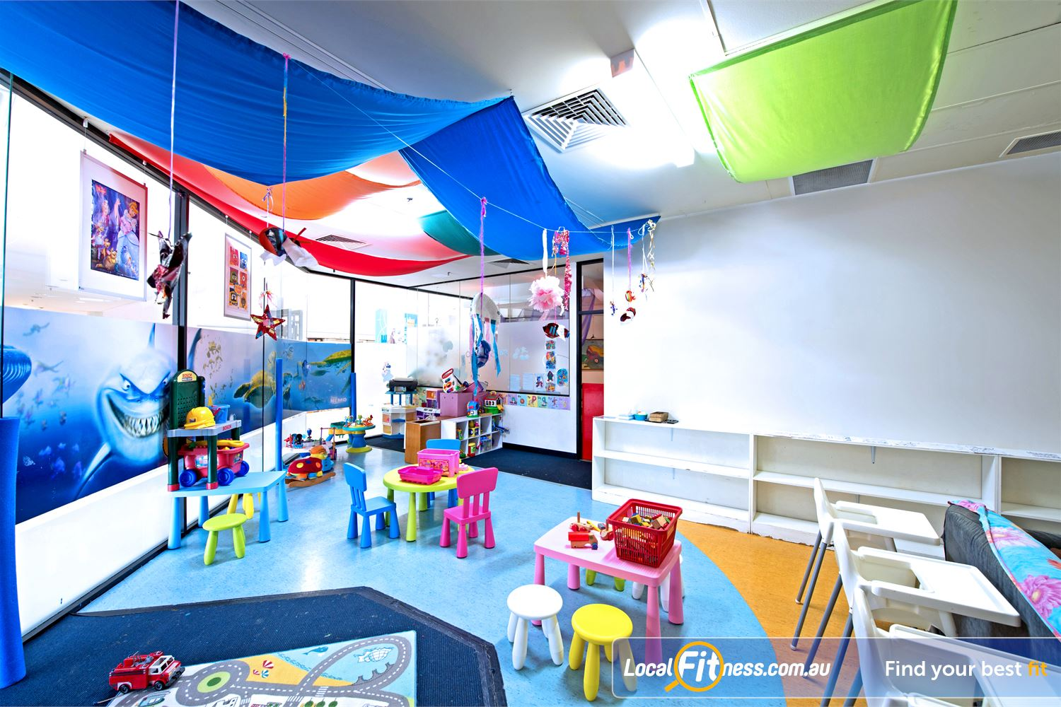 Goodlife Health Clubs Cottesloe Our worry-free child-care are lets you focus on training while we take care of the little ones.
