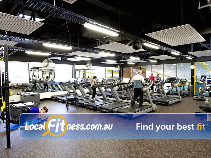 Ivanhoe Aquatic & Fitness Centre Gym Preston  | Fully equipped Modern Ivanhoe gym.