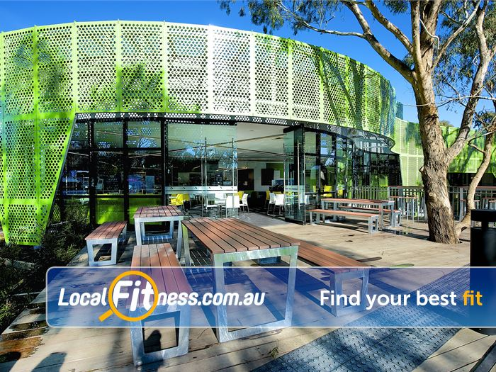 Ivanhoe Aquatic & Fitness Centre Gym Balwyn North  | Beautiful community outdoor atmosphere.
