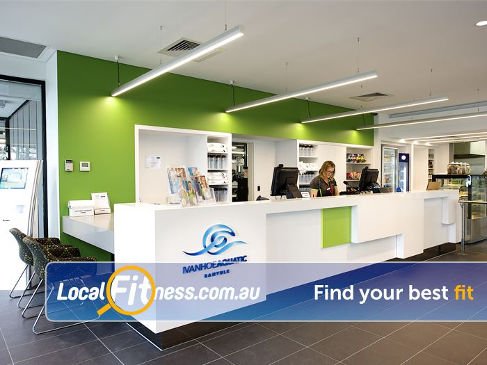 Ivanhoe Aquatic & Fitness Centre Ivanhoe Our friendly team are ready to serve your health and fitness needs.